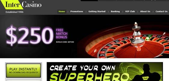 Free intercasino play best casino play slot machines las vegas