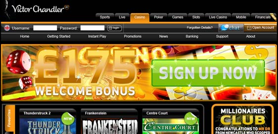 Victor Chandler Casino Offer